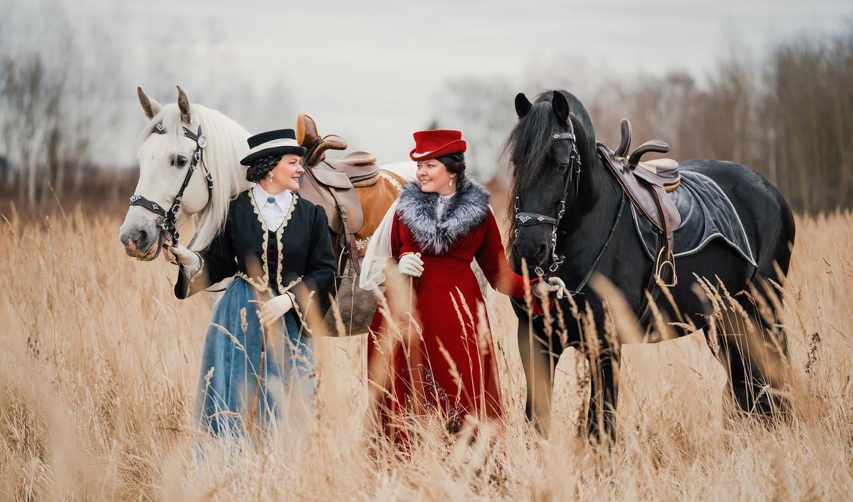 Фотосессия с лошадьми Los Establos