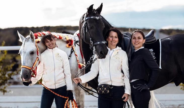 Подбор лошадей за границей Los Establos